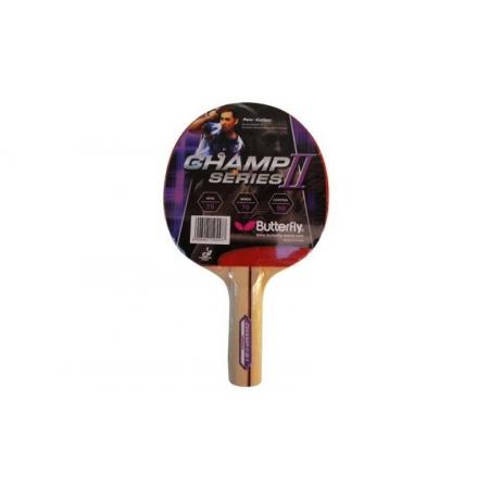 Ракетка для настольного тенниса BUTTERFLY (1шт) 16380 CHAMP II-S1 (древесина, резина)