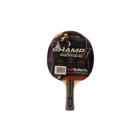 Ракетка для настольного тенниса BUTTERFLY (1шт) 16390 CHAMP II-F-XXS (древесина, резина)