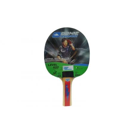 Ракетка для настольного тенниса DONIC (1шт) LEVEL 400 MT-713039 CONTROL APPELGREEN (древес, резина)