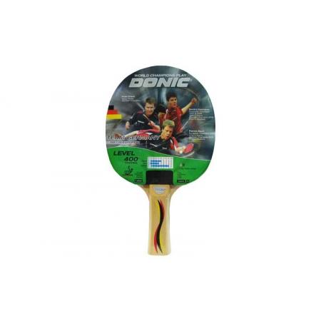Ракетка для настольного тенниса DONIC (1шт) LEVEL 400 MT-713049 CONTROL TEAM GERMANY (древес, рез)