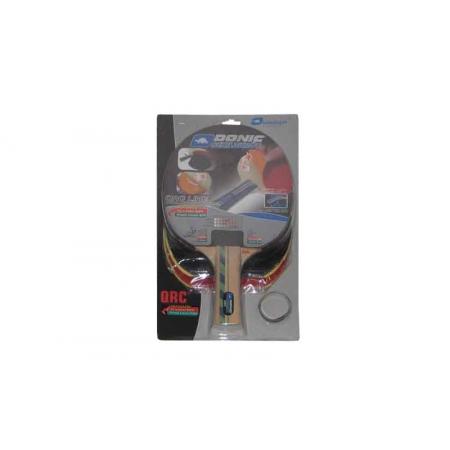 Ракетка для настольного тенниса DONIC (1шт) LEVEL 400 MT-752549 PERSSON QRC (древесина, резина)