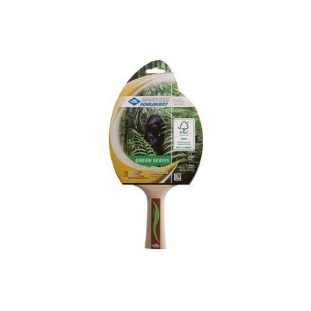 Ракетка для настольного тенниса DONIC (1шт) LEVEL 500 MT-724411 GREEN SERIES (древесина, резина)