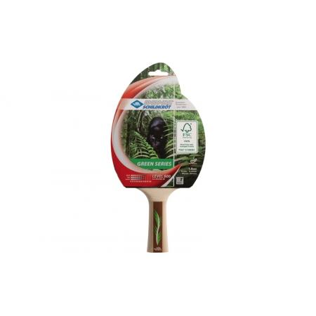 Ракетка для настольного тенниса DONIC (1шт) LEVEL 600 MT-734412 GREEN SERIES (древесина, резина)