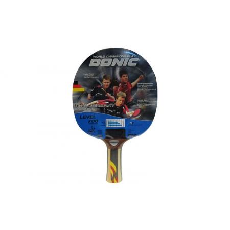 Ракетка для настольного тенниса DONIC (1шт) LEVEL 600 MT-754195 TEAM GERMANI (древесина, резина)