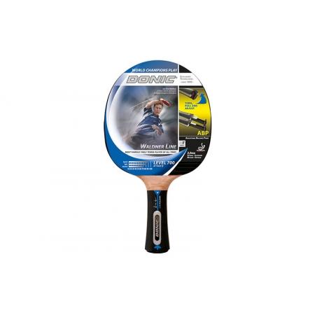 Ракетка для настольного тенниса DONIC (1шт) LEVEL 700 MT-753867 WALDNER ATTACK 2 SPONGE (древ,рез)