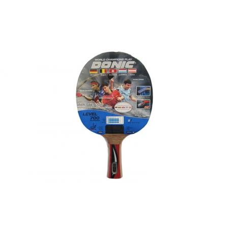 Ракетка для настольного тенниса DONIC (1шт) LEVEL 700 MT-754194 TOPTEAM (древесина, резина)