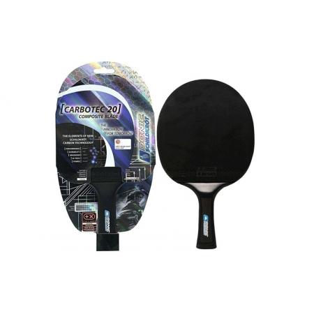 Ракетка для настольного тенниса DONIC (1шт) MT-758202 CARBOTEC 20 (карбон, резина)