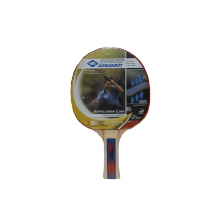 Ракетка для настольного тенниса Дубл. DONIC (1шт) MT-500 728650 APPEL GREN 500 (древесина, резина)