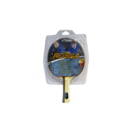 Ракетка для настольного тенниса Дубл. STIGA (1шт) ROSSA 173734 (древесина, резина)