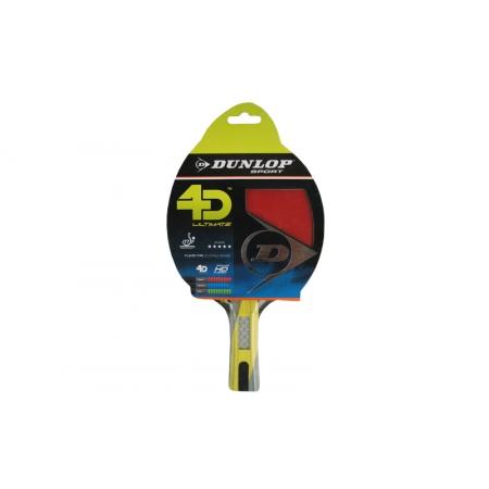 Ракетка для настольного тенниса DUNLOP (1шт) 679154 Ultimate 4D (древесина, резина)