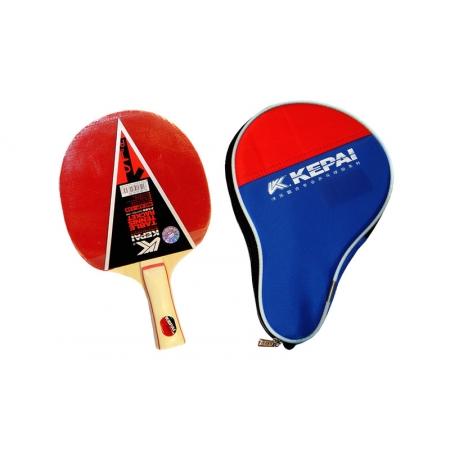 Ракетка для настольного тенниса KEPAI (1шт+PVC чехол) KP-138 1star (древесина, резина)