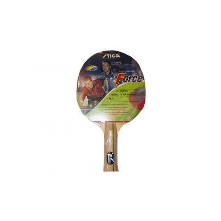 Ракетка для настольного тенниса STIGA (1шт) SGA-178334 FORCE (древесина, резина)