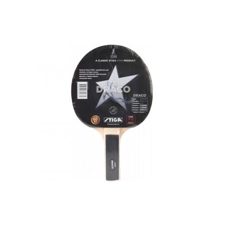 Ракетка для настольного тенниса STIGA (1шт) SGA-184437 DRACO (древесина, резина)