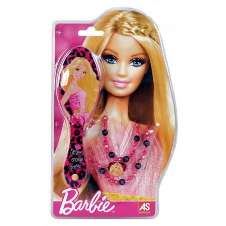 Расческа с леопардовым принтом и бусы. Barbie. Mattel, с леопардовым принтом, 1027-25520-2