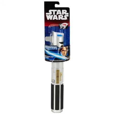 Раздвижной световой меч синий, Звездные войны, Star Wars, Hasbro, синий, B2912-1
