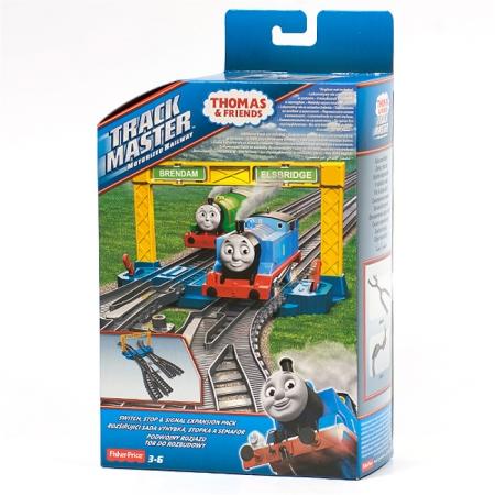 Развилки и указатели - дополнительные пути к ж/д TrackMaster, Thomas & Friends, Fisher-Price, Развилки и указатели, BMK81-3