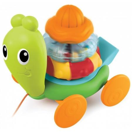 Развивающая игрушка-каталка Улитка, Sensory, 005182S