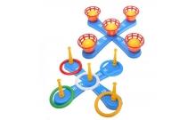Развивающая игрушка Кольцеброс, 2025 (ассорт: кольца или мячи)