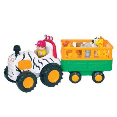 Развивающая игрушка - САФАРИ-ДЖИП (на колесах, свет, звук), 029652 Kiddieland