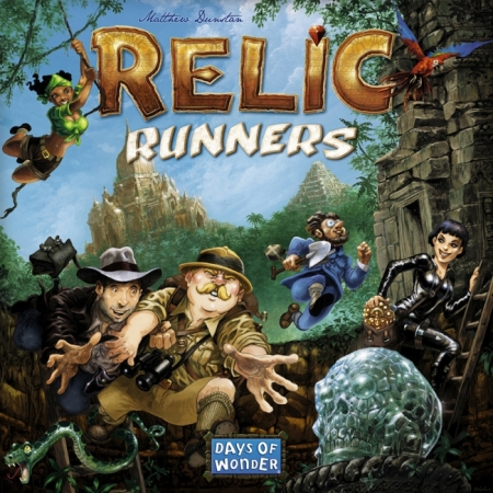 Relic Runners (Охотники за реликвиями) - Настольная игра