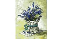 Рисование по номерам Картина серии Букет, Мелодия прованса, Идейка, KH2036