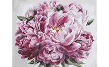 Рисование по номерам Картина серии Букет, Великолепие, Идейка, KH2077