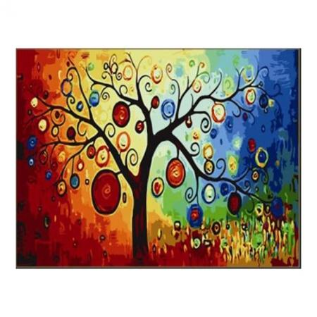 Рисование по номерам. Картина серии Цветы 40х50см, Денежное дерево, Идейка (MG230)