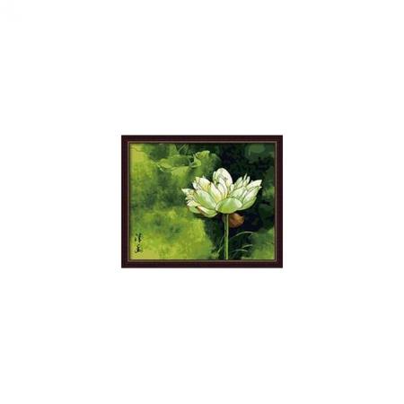 Рисование по номерам. Картина серии Цветы 40х50см, Лотос 2, Идейка (G070)