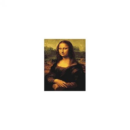 Рисование по номерам. Картина серии Люди 40х50см, Мона Лиза, Идейка (G241)