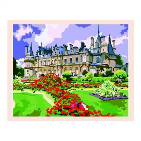Рисование по номерам. Картина серии За городом40х50см, Прекрасный замок, Идейка (MG105)