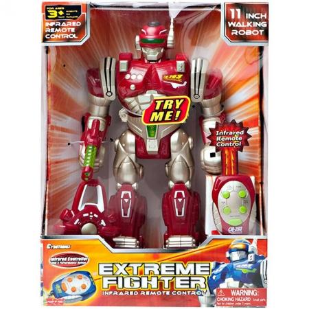 Робот Экстремальный боец красный на р/у, Hap-p-kid, 4006T