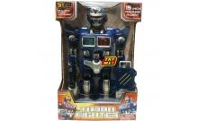 Робот Турбо-боец синий, Hap-p-kid, 4001-02T