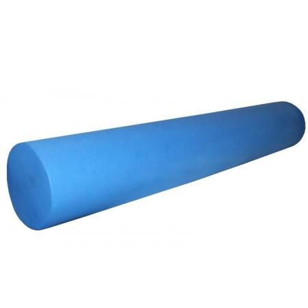 Роллер для занятий йогой гладкий EVA FI-3358 l-90см (d-15см, 500гр, голубой)