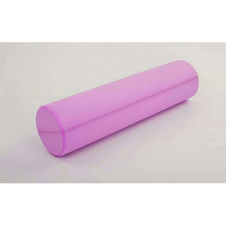 Роллер для занятий йогой массажный EVA FI-5157-45 l-45см (d-15см, розовый)