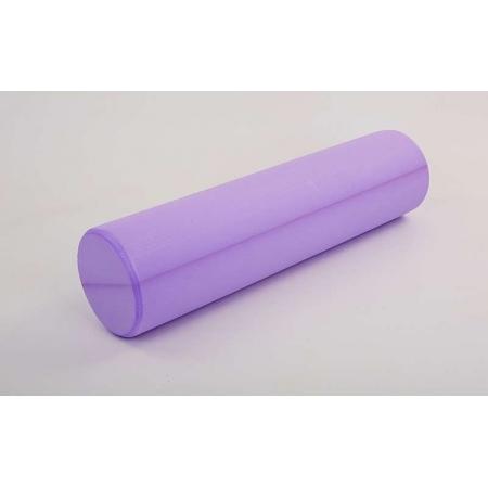 Роллер для занятий йогой массажный EVA FI-5157-60 l-60см (d-15см, фиолетовый)