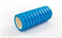 Роллер для занятий йогой массажный EVA FI-5325-5 l-33см (d-14см, синий)