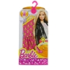 Розово-белое платье для Барби, серии Модное платье, Barbie, Mattel, разноцветное с белым верхом, CFX65-3