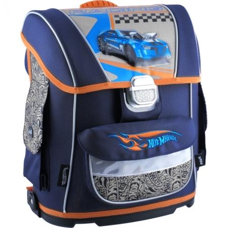 Рюкзак Kite школьный каркасный Hot Wheels, HW14-530K