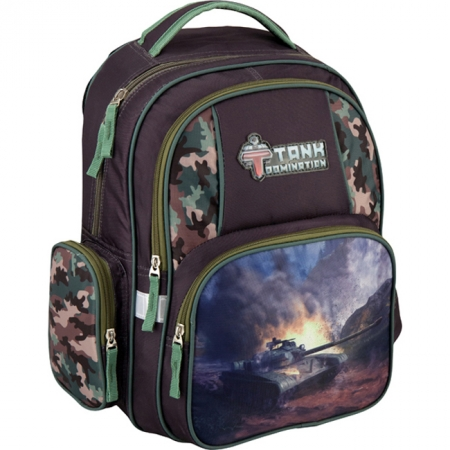 Рюкзак школьный Kite 2016 - 514 Tank Domination, TD16-514S
