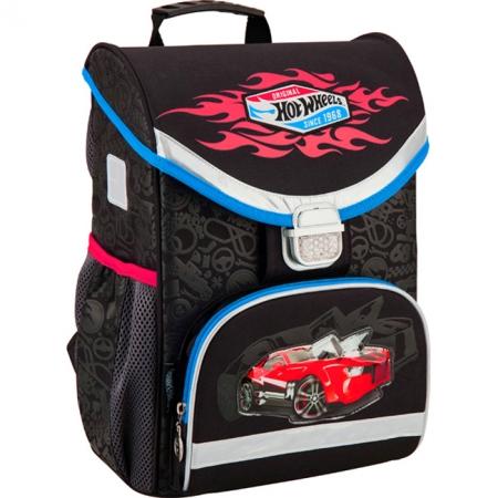Рюкзак школьный Kite 2016 - каркасный 529 Hot Wheels, HW16-529S
