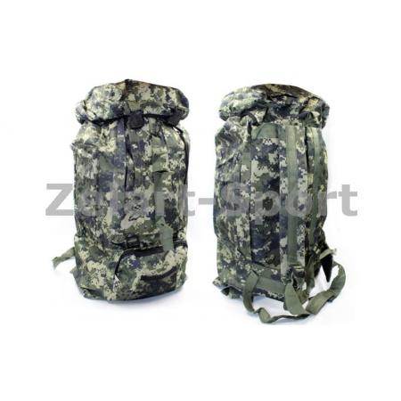 Рюкзак туристический (тактический) V-35л TY-4726-2 (PL,NY, р-р 53х33,5х14см, пиксель UCP)