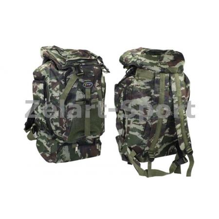 Рюкзак туристический V-35л мягкий TY-806 (PL, NY, р-р 49х33х17см, камуфляж Woodland)