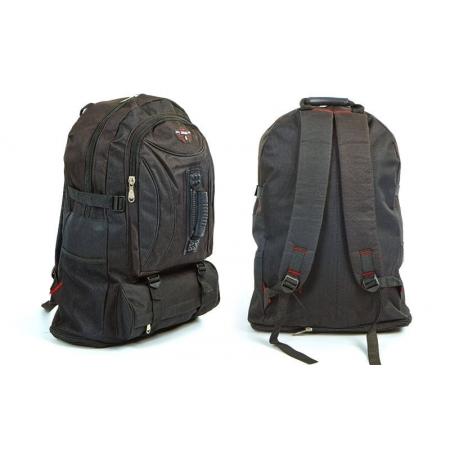 Рюкзак туристический V-40л бескаркасный GA-077160-BK (PL, NY, черный)