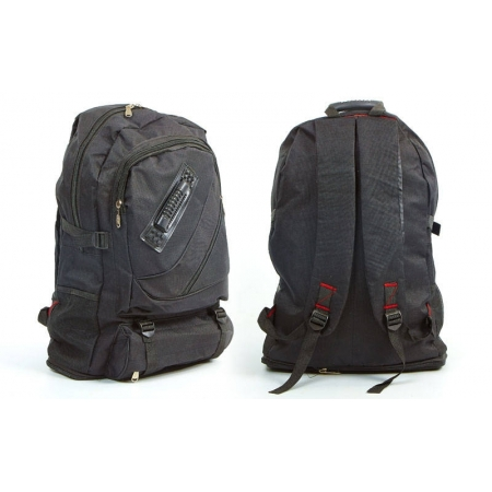 Рюкзак туристический V-40л бескаркасный GA-077161-BK (PL, NY, черный)