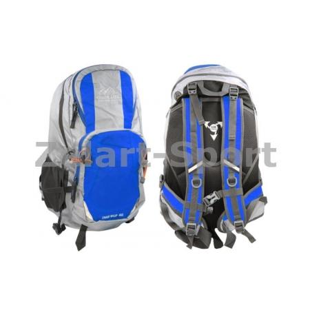Рюкзак туристический V-40л бескаркасный GA-1535-BL COLOR LIFE (PL, NY, синий)