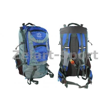 Рюкзак туристический V-45л бескаркасный GA-61106-BL COLOR LIFE (PL, NY, синий)