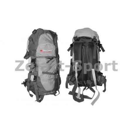 Рюкзак туристический V-85л каркасный (жесткий) GA-3713-DG ZEL (PL,NY, алюм., темно-синий )