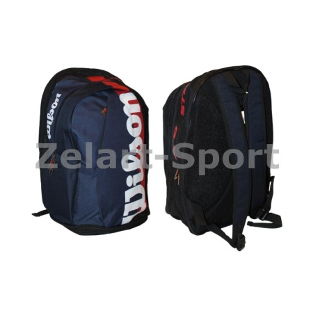 Рюкзак WILSON 6007 BACKPACK (PL, р-р 48х32х21см, красный, синий)