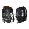 Рюкзак WILSON 6043 BACKPACK (PL, р-р 50х32х21см, черный, белый, красный)