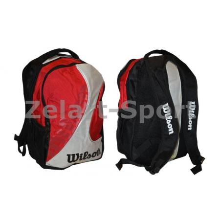 Рюкзак WILSON 6133 BACKPACK (PL, р-р 48х35х21см, красный, черный)